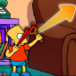 The Simpsons Slingshot Game