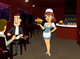 Naughty Waitress